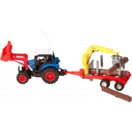 RC Tractor Crane Trailer