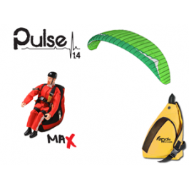 Opale Rc Paraglider Kit - Pulse 1.4 Gin Sprint Evo