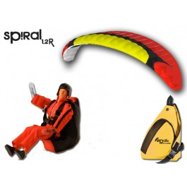Opale Rc Paraglider Kit - Spiral 1.2R Red