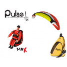 Opale Rc Paraglider Kit - Pulse 1.4 Red