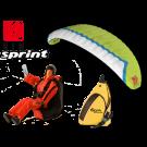 Opale Rc Paraglider Kit - Spiral 1.2R Gin Sprint Clover