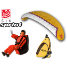 Opale Rc Paraglider Kit - Spiral 1.2R Gin Sprint Apricot