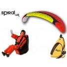 Opale Rc Paraglider Kit - Spiral 1.2R Red